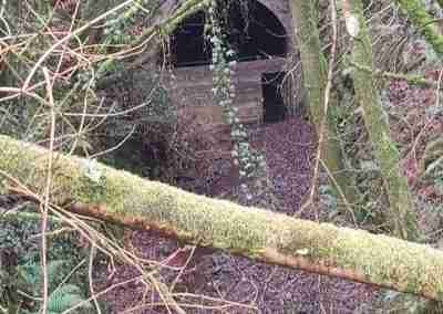 Mount Elliot Tunnel boarded up