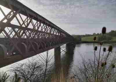 Red Bridge Side View