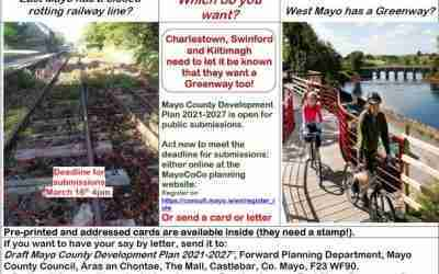 Greenway for East Mayo – Have your say