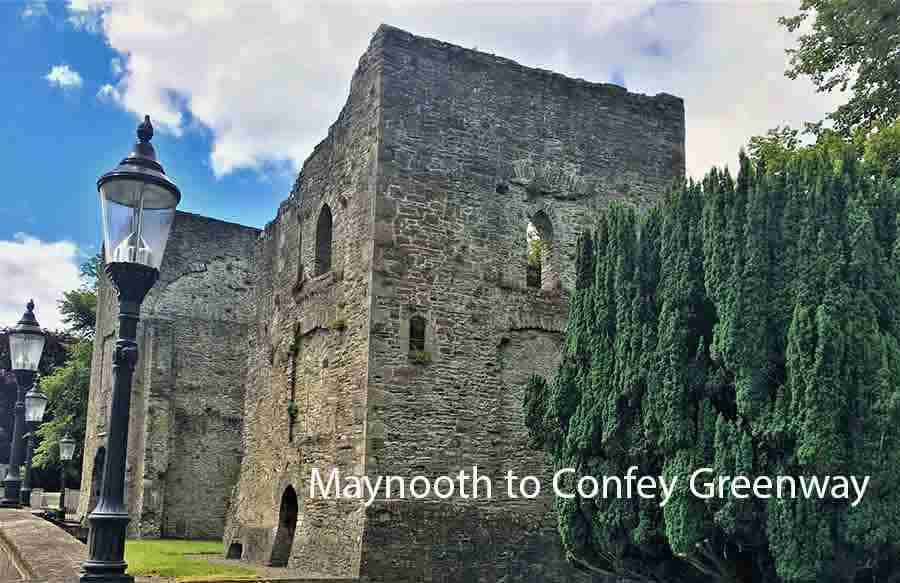 maynooth to confey greenway